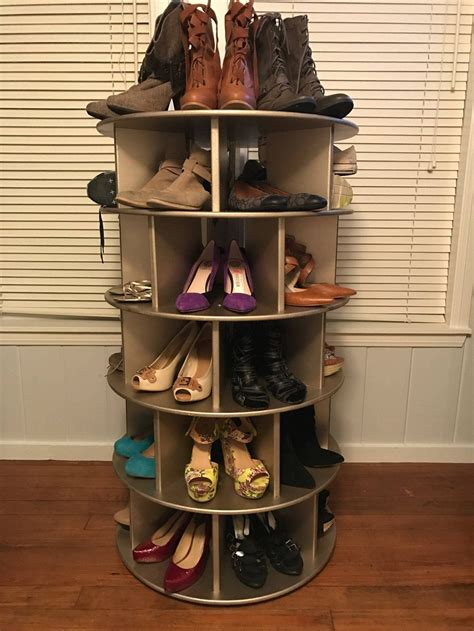 Shoe Storage Carousel Plans