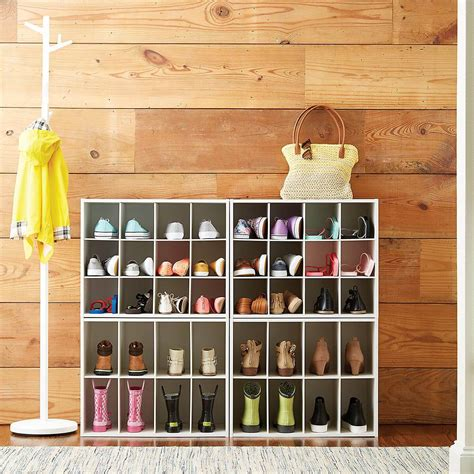 Shoe Storage Ideas For Small Spaces Diy