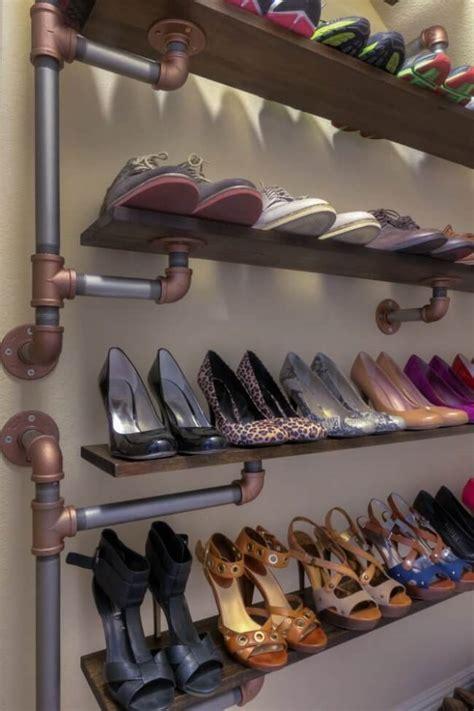 Shoe-Rack-Metal-Diy-Ideas
