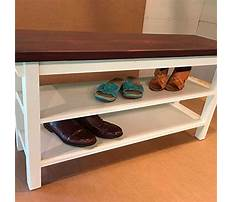 Best Shoe rack bench diy