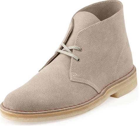 Shoes Man Laced 26107881 Desert Boot Sand