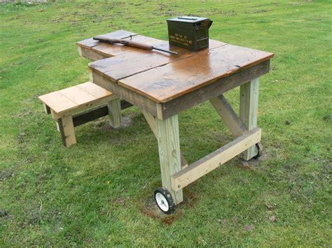 Shooting Bench Stool Plans