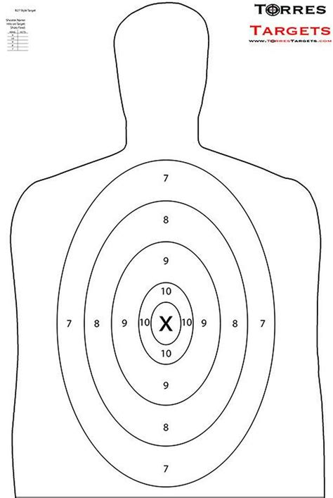 Brownells Shooting Silhouette Targets.