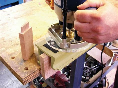 Shop Made Mortise And Tenon Cutting Jigs For The 300