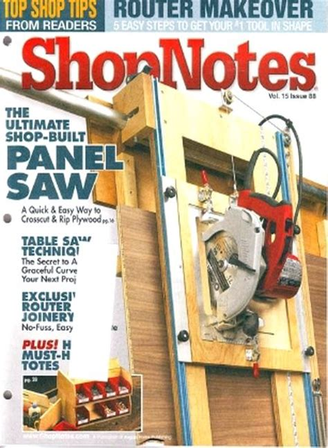Shopnotes Issue 88 PDF Download