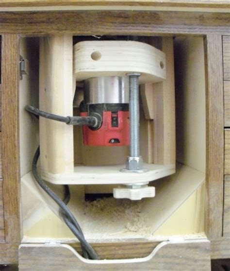 Shopnotes Magazine Issue 121 Router Lift Plans