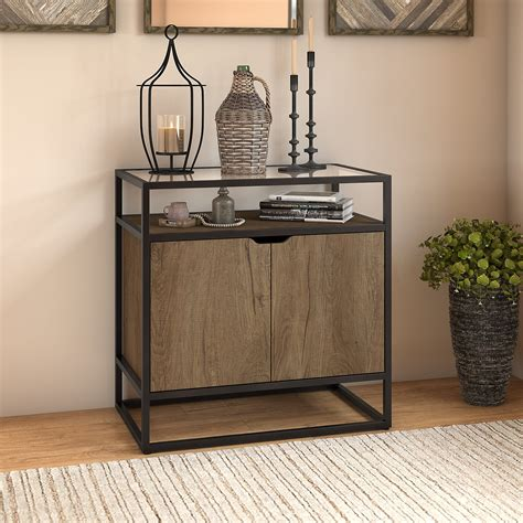 Short Cabinet With Doors