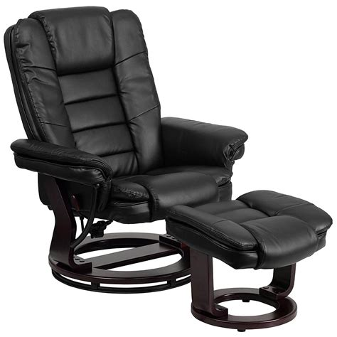 Short Leather Recliner