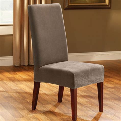Short Slipcover Dining Chair