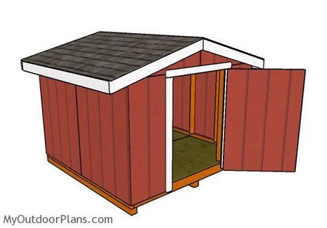 Short-Roof-Shed-Plans