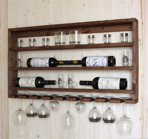Shot Glass Rack Diy