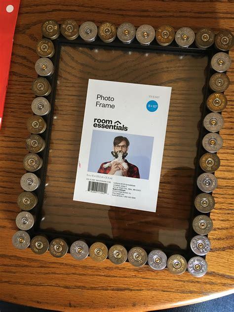 Shotgun Shell Picture Frame Diy Youtube