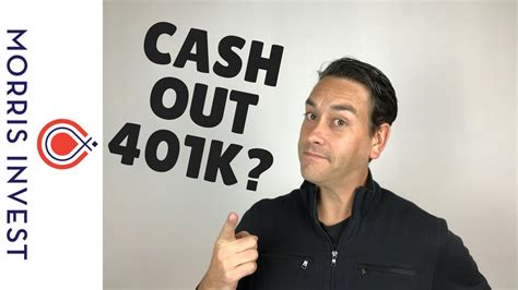 Should You Cash Out 401k