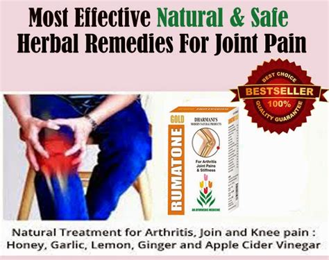 Should I Trust Rumatone Gold Capsules For My Joint Pain?
