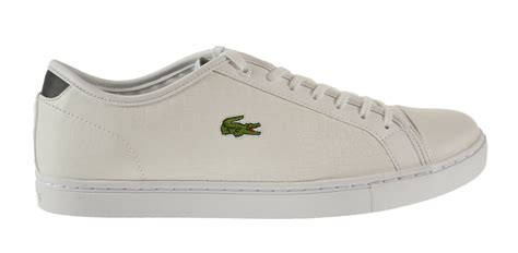 Showcourt Croc SPM Leather Men's Shoes White/Black 7-28spm0227-147