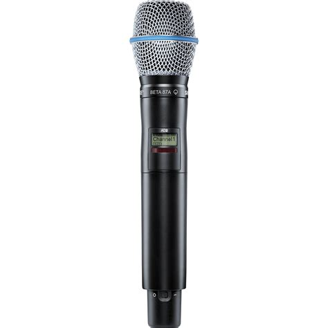 Shure AD2/B87A, Handheld Transmitter with Beta87A Microphone, G57