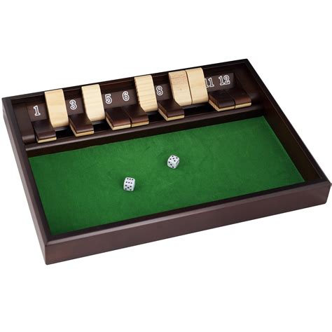 Shut The Box Dice Game Directions