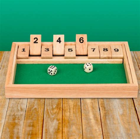 Shut The Box Game Of Skill Directions From One Place