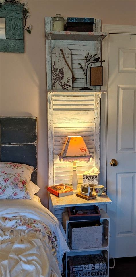 Shutter-Nightstand-Diy
