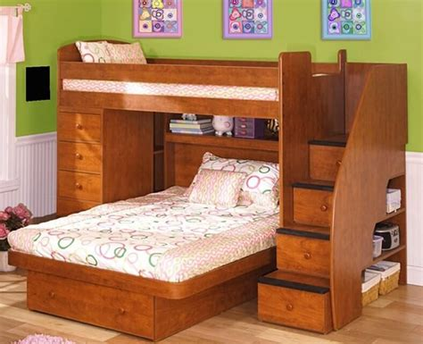 Side By Side Built in Twin Bunk Bed Plans