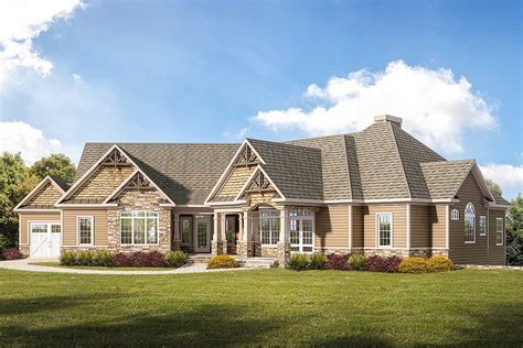 Side Garage Ranch House Plans