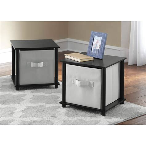 Side Table Storage Cube