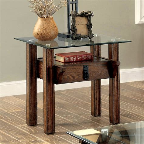 Side Table Wood And Glass Plans
