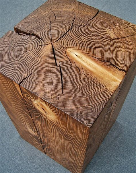 Side Table Wood Block Plans