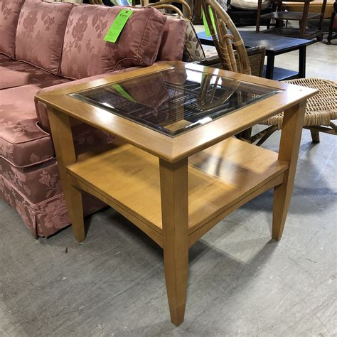 Side Tables Glass Top Wood Plans