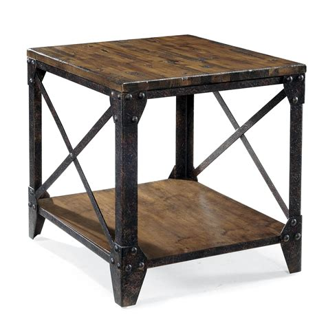 Side Tables With Iron Legs