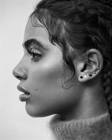 Side Potrait Drawing Skull
