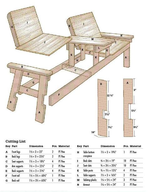 Side-By-Side-Patio-Chair-Plans