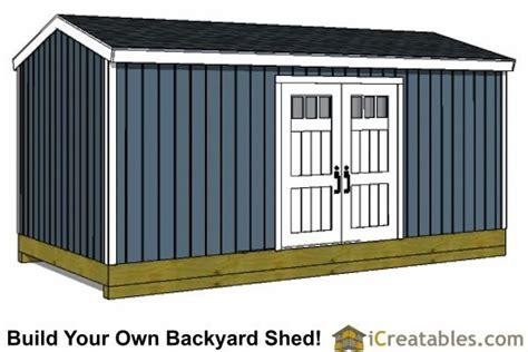 Side-Door-Shed-Plans