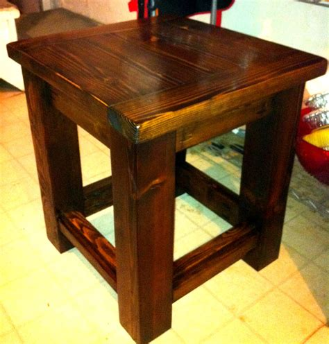 Side-End-Table-Plans