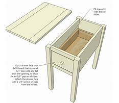 Best Side table plans free