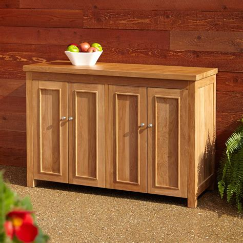 Sideboard Buffet Outdoor Porch Plans