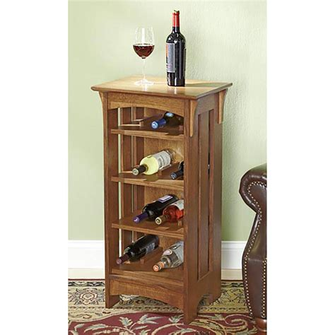 Sideboard-With-Wine-Rack-Plans