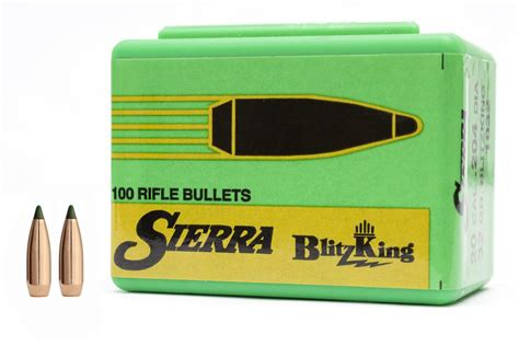 Sierra Bullets 6mm  243 55 Gr Blitzking 100 Box .