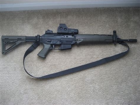 Sig Sauer 556 Fixed Stock And Sig Sauer 9mm 124gr Vcrown Jhp