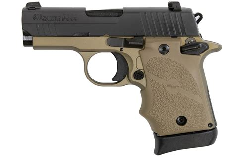 Sig Sauer Concealed 9mm With Laser And Sig Sauer Cp1 Reticle