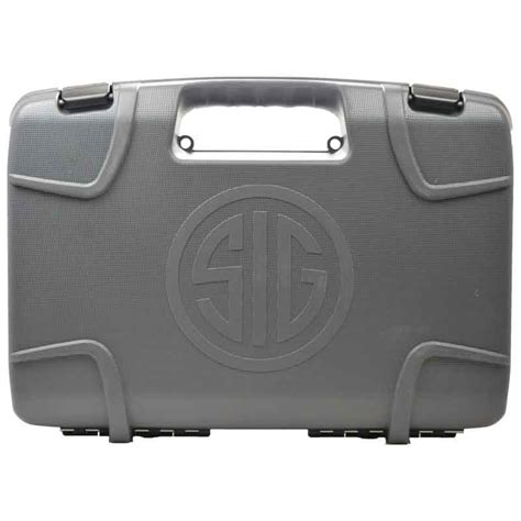 Sig Sauer Factory Replacement Pistol Case And Smith Wesson