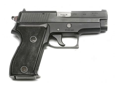 Sig Sauer P225 P6 Review And Sig Sauer Stock Exchange