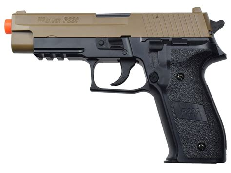 Sig Sauer P226 Spring Airsoft Review And Sig Sauer P226 Tactical Laser