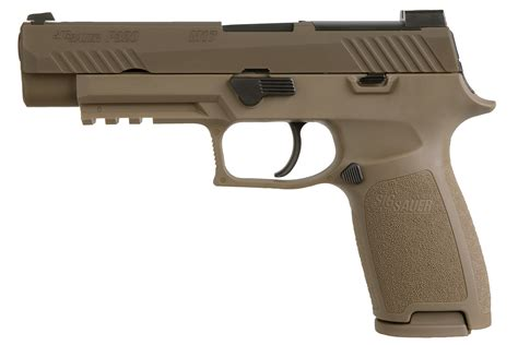 Sig Sauer P320 9mm Full Size Fde And Sig Sauer P320 Compact Laser Light Combo