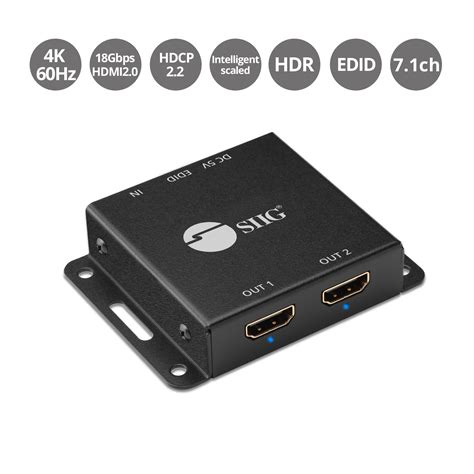 Siig - Video Splitter - 2 Ports
