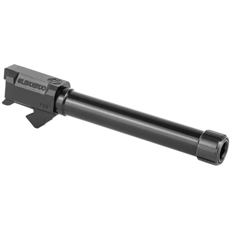 Silencerco Sco Threaded Barrel For Sig P226 9mm 4 9 Inch And Briley Pd Custom Handguns And Accessories
