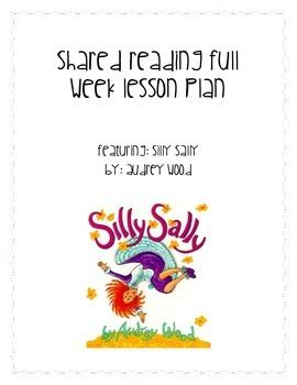 Silly Sally Audrey Wood Lesson Plans