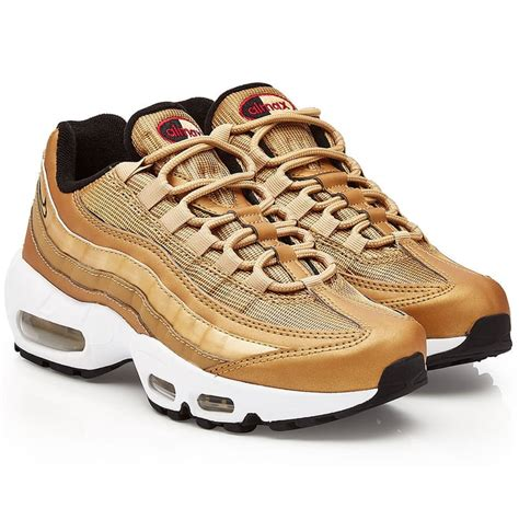 Silver And Gold Nike Sneakers