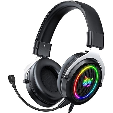 Silver Stereo Headset/Mic