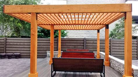 Silverado Modern Pergola Engineering Plans